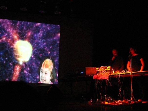 """Visuales para el """"El Banco Mundial"""". Festival Ai-Maako 2008."""